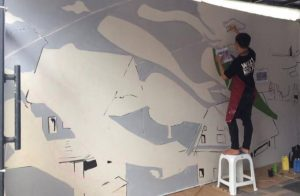 How to Paint Mural 1