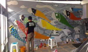 How to Paint Mural 3