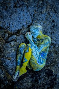 Autumn Bodypainting by Vilija Vitkute