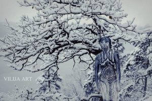 Winter Bodypainting by Vilija Vitkute