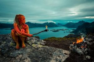 Fire Bodypainting
