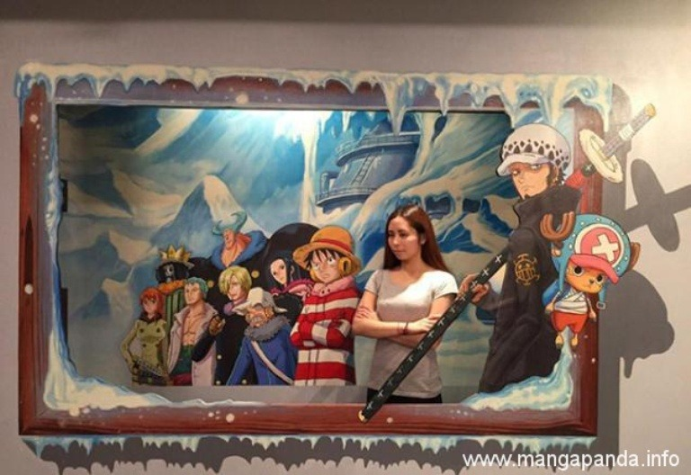 gambar 3dimensi one piece trick art might fool you5