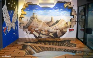 3d wall painting art interactive 3d wall painting painting unique and amazing art on