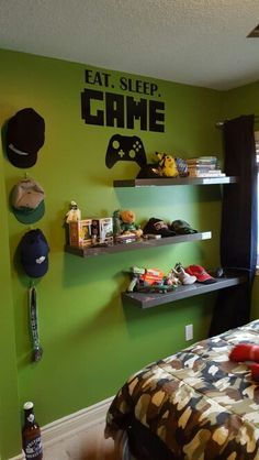 dekorasi kamar bertema video game 4