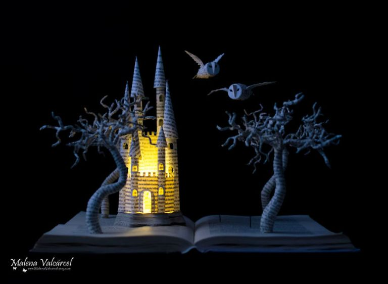 Paper Art by Malena Varcarcel, an Amazing Artist From Spain