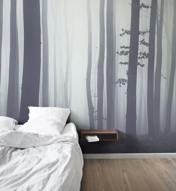forest mural