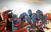mural robot di bosch office