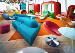 furnitur unik untuk coworking space