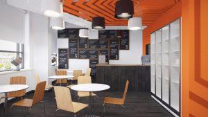 dekorasi coworking space