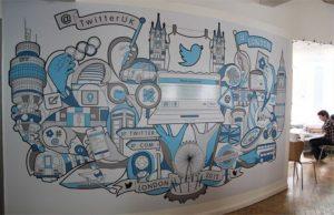 mural kantor twitter