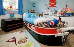 dekroasi kamar anak dengan tema bajak laut