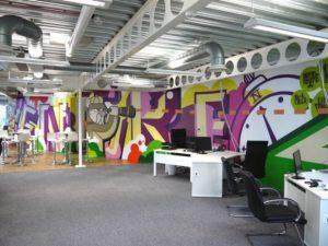mural kantor neoscreative