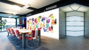 mural kantor bic