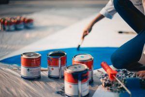 cat-cat terbaik untuk membuat mural