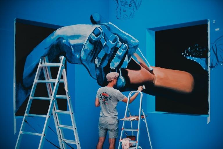 Tahap-tahap Membuat Mural dan Tips Untuk Menghasilkan Karya Mural Terbaik