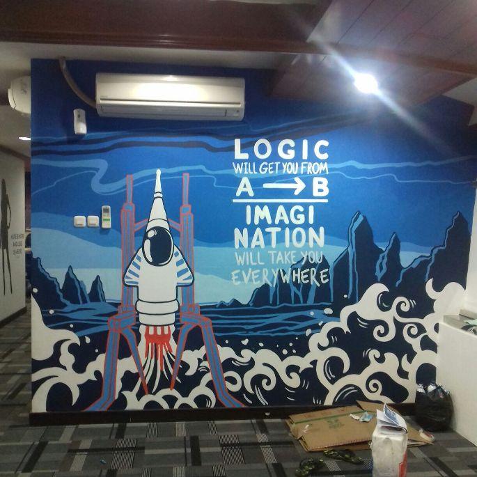 mural kantor sale stock
