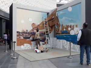 tahap membuat mural