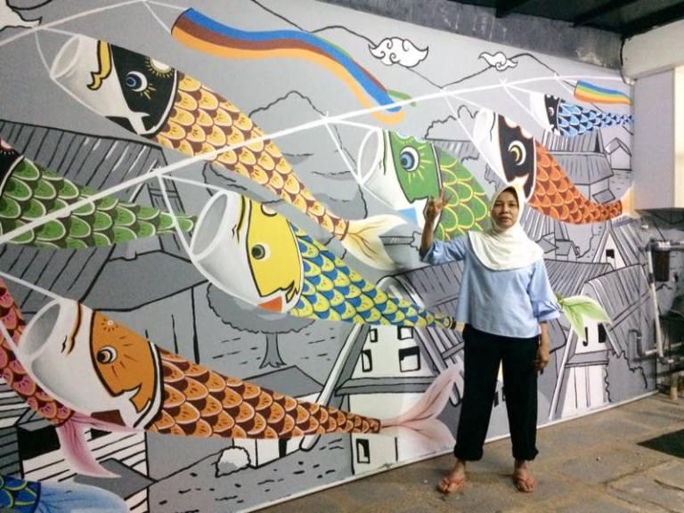 Cara Membuat Mural Ini Menghasilkan Lukisan Dinding Yang Sempurna