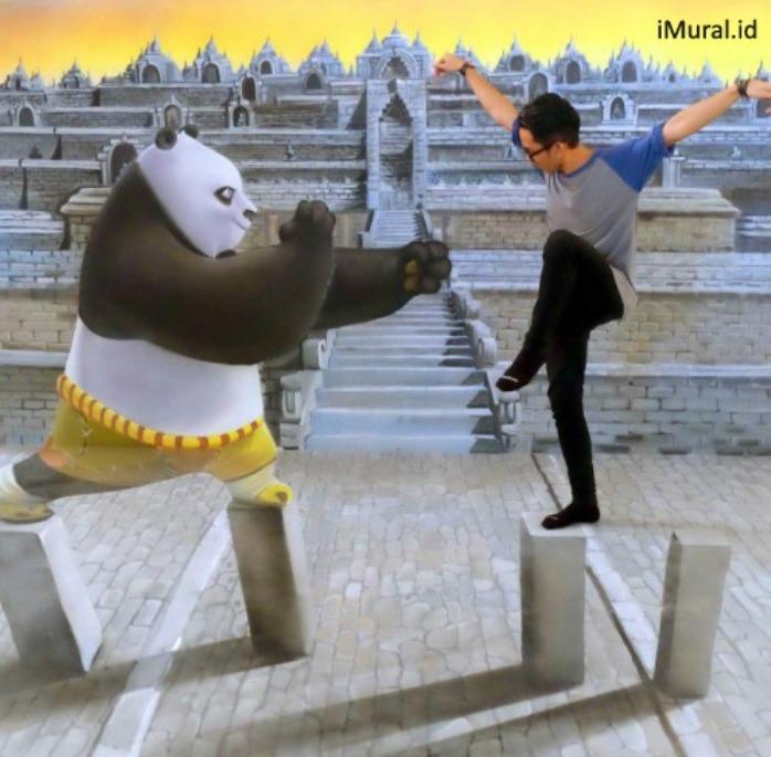 daftar museum 3d trick art di indonesia