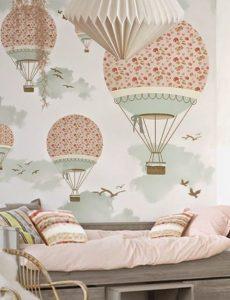 mural balon udara