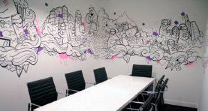 mural kantor digital gurus
