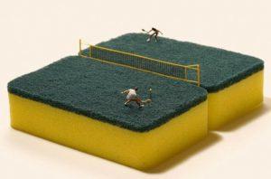 diorama tenis