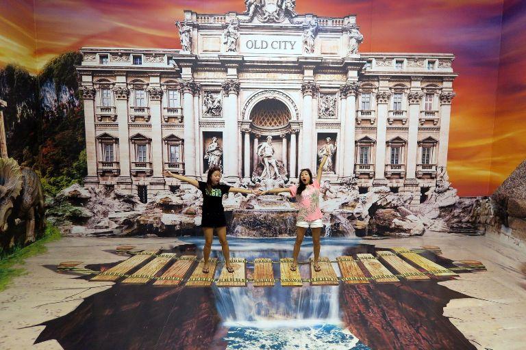 museum 3d old 3d trick art museum