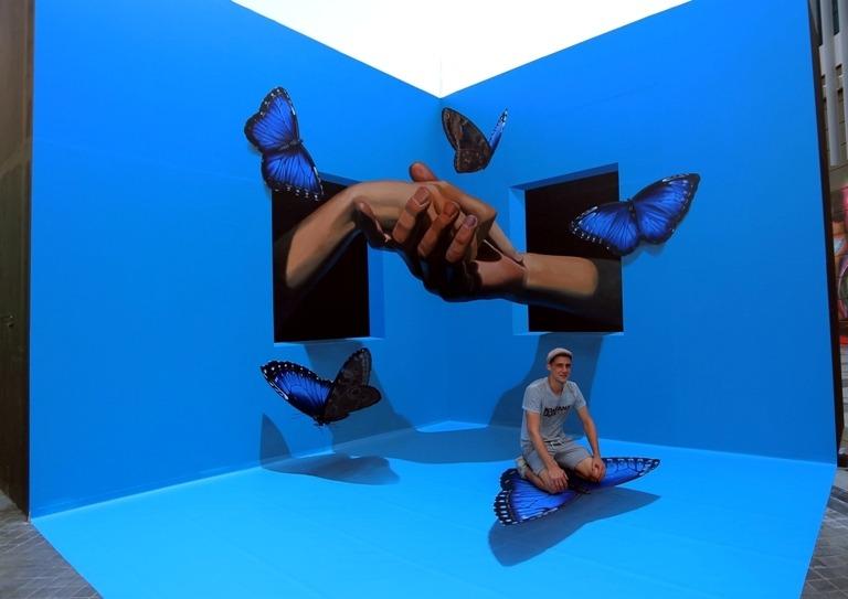 Cara Membuat 3D Trick Art Yang Memuaskan, Dengan Efek Ilusi Yang Begitu Nyata