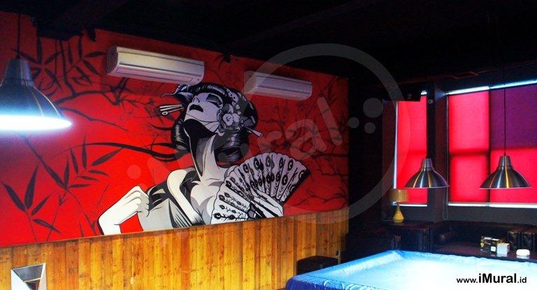 Mural Untuk Restoran Jepang, Ciptakan Desain Interior Yang Kece Dan Menarik
