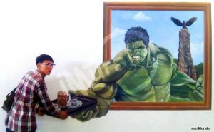 ide background photobooth hulk