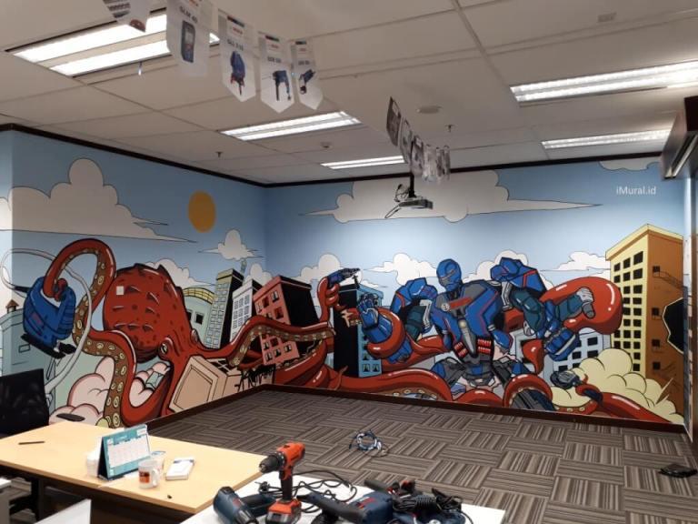 mural kantor bosch
