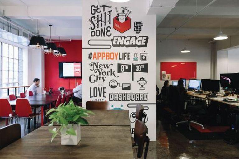 mural kantor