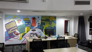 mural office salestock sahid