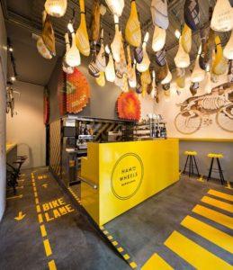 dekorasi cafe bergaya industrial 8