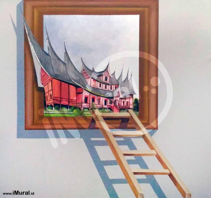 Lukisan Dinding 3d Berbagai Tema Untuk Berbagai Kebutuhan Realistis