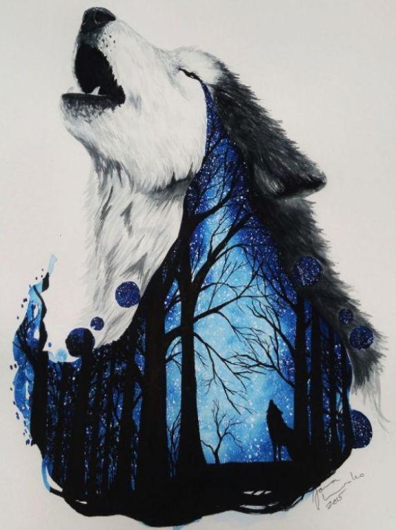 lukisan hewan 3