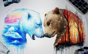 lukisan hewan 5