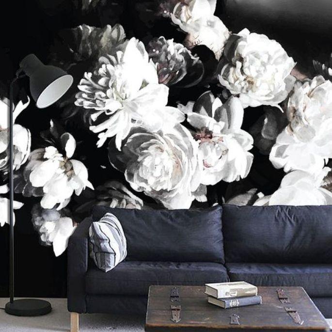 mural hitam putih 9