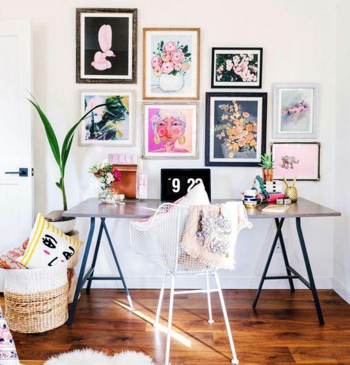 Lukisan Dinding Ini Mampu Permanis Berbagai Ruangan di Rumah Anda
