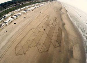 lukisan pasir 12