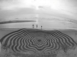 lukisan pasir 17