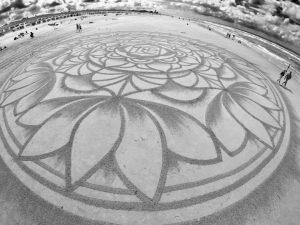 lukisan pasir 2