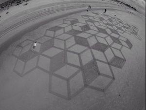 lukisan pasir 20