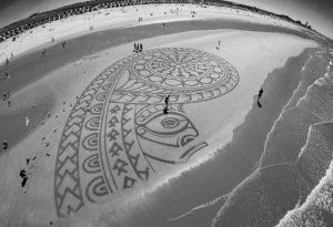 lukisan pasir 22