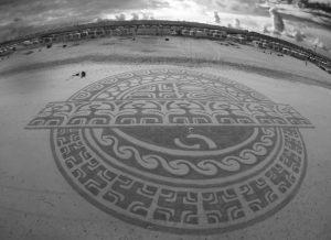lukisan pasir 6