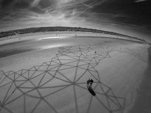lukisan pasir 8