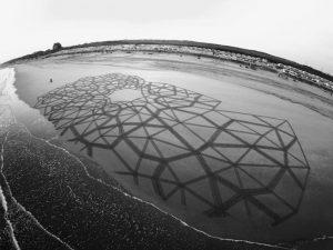 lukisan pasir 9