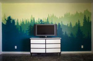 Mural Hutan 10