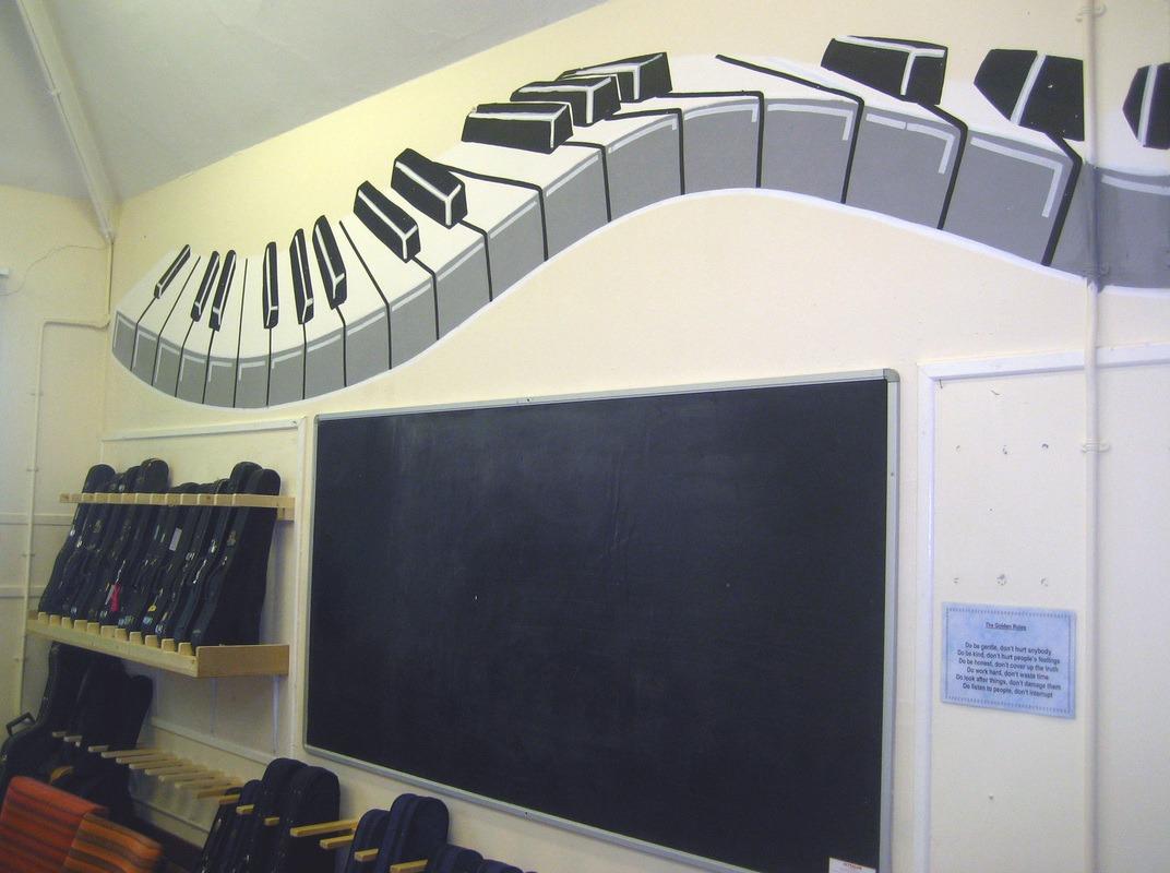 mural musik