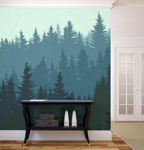 Mural Musim Dingin 3